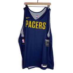 Nike Shirts | Nike Indiana Pacers Reversible Jersey | Color: Blue/Gray | Size: 3xl