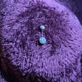 Brandy Melville Jewelry | Disco Ball Diamond Belly Ring | Color: Purple | Size: Os