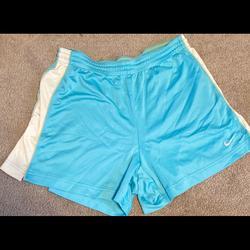 Nike Shorts   Nike Light Blue Shorts   Color: Blue   Size: M