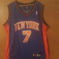 Adidas Shirts | Size 56 New York Knicks Jersey | Color: Blue/Orange | Size: 56