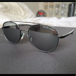 Michael Kors Accessories | Michael Kors Lon Aviator Sunglasses | Color: Black | Size: Os