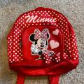 Disney Other | Small Minnie Mouse Backpack | Color: black | Size: Osg