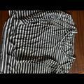 American Eagle Outfitters Tops | Aeo Soft And Sexy Grey Striped Ls Shirt Xs | Color: Gray/White | Size: Xs