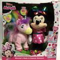 Disney Toys   Minnie'S Walk & Dance Unicorn New   Color: Pink   Size: Osg