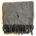 Polo By Ralph Lauren Accessories | Polo Houndstooth Scarf | Color: Black/Gray | Size: Os
