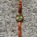 Michael Kors Accessories | Gold Michael Kors Watch With Leather Band | Color: Gold/Orange | Size: Os