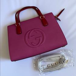 Gucci Bags | Gucci Soho Leather Top Handle Bag | Color: Pink | Size: Os