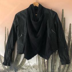 Free People Jackets & Coats   Free People Wrap Jacket Size 4   Color: Black   Size: 4