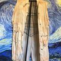 Free People Jackets & Coats | Free People Trench Jacket | Color: Cream/Pink | Size: Xs