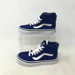 Vans Shoes | New Vans Sk8-Hi Zip Pop Check Skater Casual Shoes | Color: Blue | Size: 11.5