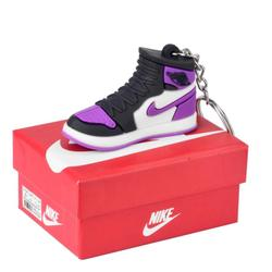 Nike Accessories | Nike Shoes Purple 3d Key Chain With Box | Color: Purple | Size: Os