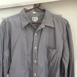 J. Crew Shirts | Mens J Crew Ls Button Up Dress Shirt | Color: Gray | Size: Xl