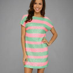 Lilly Pulitzer Dresses   Lilly Pulitzer Ames Tropical Pink Cucina Dress   Color: Green/Pink   Size: S
