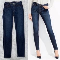 J. Crew Jeans | J. Crew High Rise Skinny Denim Jeans | Color: Blue | Size: 25