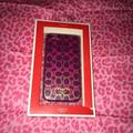 Coach Accessories | Coach Iphone 5 Case Magneta | Color: Pink | Size: Os