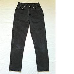 Ralph Lauren Jeans | Ralph Lauren Polo Jeans Womens Denim Jeans, Size 4 | Color: Black | Size: 4
