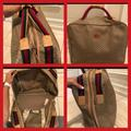 Gucci Bags | Gucci Authentic Suitcase Carry On Luggage Bag | Color: Red/Tan | Size: Os