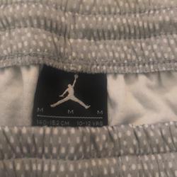 Nike Shorts | Micheal Jordan Girls Basketball Shorts- Kids M | Color: Gray/Silver | Size: M