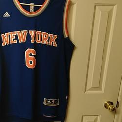 Adidas Other | New York Knicks Jersey | Color: Blue/Orange | Size: Xxl