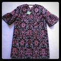 Kate Spade Jackets & Coats   Kate Spade Tapestry Jacquard Coat In Size 0   Color: Black/Pink   Size: 0