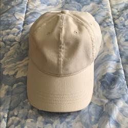American Eagle Outfitters Accessories | Off White Colored Destroyed Hat | Color: Cream | Size: Os