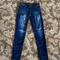 American Eagle Outfitters Jeans | Low-Rise American Eagle Skinny Jeans | Color: Blue | Size: 2