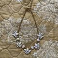 J. Crew Jewelry   Like New J Crew Statement Necklace   Color: Gold/White   Size: Os