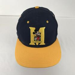 Disney Accessories   Mickey Unlimited Mickey Mouse Adult Snapback Hat   Color: Blue/Red/Yellow   Size: Os