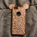 Disney Accessories   Rose Gold Glitter Mickey Mouse Iphone 66s Case   Color: Pink   Size: Os