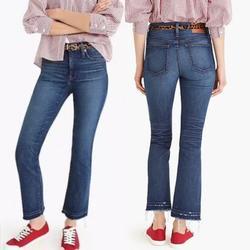 J. Crew Jeans | Denim J. Crew Boot Crop Jeans (Nwt) | Color: Blue | Size: 23