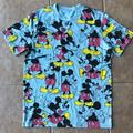 Urban Outfitters Shirts   Mickey Aop Pattern Short Sleeve Tee   Color: Black/Blue   Size: M