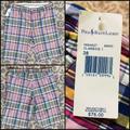 Polo By Ralph Lauren Shorts   Mens Ralph Lauren Polo Shorts   Color: Blue/Pink   Size: 38
