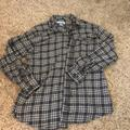 Columbia Shirts   Men Columbia Flannel   Color: Gray/White   Size: Xl