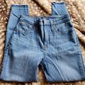 J. Crew Jeans | Nwot J.Crew 26p Raw Hem Jeggings | Color: Blue | Size: 26p
