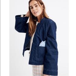 Madewell Jackets & Coats | Madewell Reversible Sherpa Jean Jacket Size Small | Color: Blue | Size: Various