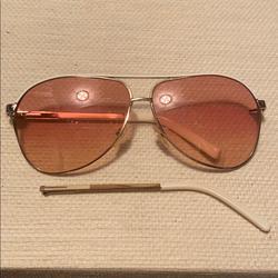 Gucci Accessories   Gucci Aviator Sunglasses Whitegold   Color: Gold/White   Size: Custom
