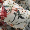 Anthropologie Bedding | 1 Vineet Bahl Embroidered Blooms Euro Sham | Color: Blue/Red | Size: Euro