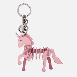 Coach Accessories | Coach Unicorn Primarose Pink Bag Charm Key Fob | Color: Pink | Size: Os