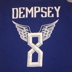 Nike Shirts   Dempsey Hero Soccer T Shirt Large   Color: Blue/White   Size: L