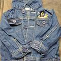 Disney Jackets & Coats | Mickey Mouse Denim Jacket 6-9 Mo Boy Girl Blue | Color: Blue | Size: 6-9mb