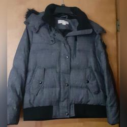 Michael Kors Jackets & Coats | Michael Kors Medium Parka Gray Jacket | Color: Black/Gray | Size: M