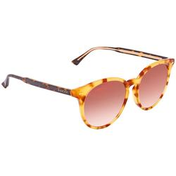 Gucci Accessories   New * Gucci Gg0195sk Semi-Round Havana Shades Nwot   Color: Brown/Yellow   Size: 55-18-150