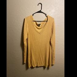 Torrid Sweaters | Plus Size Cute Yellow Sweater Torrid | Color: Yellow | Size: 3x