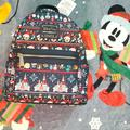 Disney Bags   Disney Christmas Loungefly Backpack   Color: Blue   Size: Os
