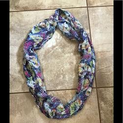American Eagle Outfitters Accessories   Multi Colored Scarf   Color: Red   Size: Os