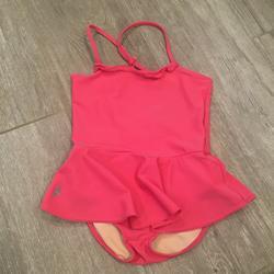 Ralph Lauren Swim | Ralph Lauren One Piece Pink Swimsuit Girls 6x | Color: Pink | Size: 6xg