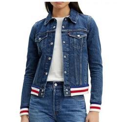Levi's Jackets & Coats   Levi'S Trucker Jeans Jacket Womens   Color: Blue/White   Size: M