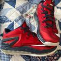 Nike Shoes | Nike Lebron 11 Low Independence Day Shoes | Color: Blue/Red | Size: 7.5