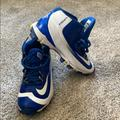 Nike Other | Nike Baseball Cleats Good Condition | Color: Blue/White | Size: 3 Youth
