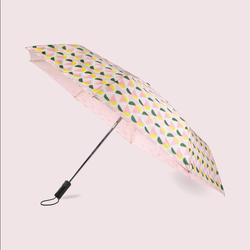 Kate Spade Accessories | Kate Spade Nwt Geo Spade Travel Umbrella | Color: Pink/Yellow | Size: Os